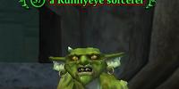 A Runnyeye sorcerer