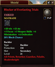 Blocker of Everlasting Trials