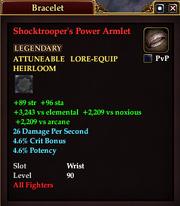 Shocktrooper's Power Armlet