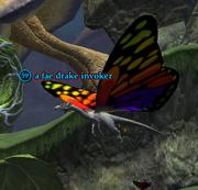 A fae drake invoker