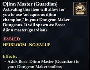 Djinn Master (Guardian)