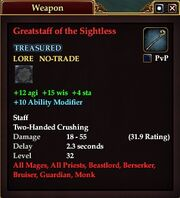 Greatstaff of the Sightless