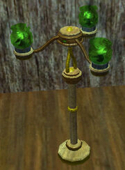 Eerie-green-glass-candelabra