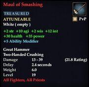 Maul of Smashing