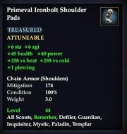 Primeval Ironbolt Shoulder Pads