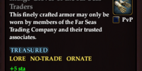 Indigo Gloves of the Far Seas Traders