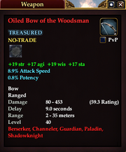 Oiled Bow of the Woodsman