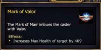 Mark of Valor