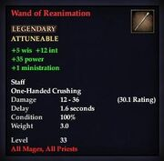 Wand of Reanimation