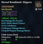 Eternal Broodlands' Slippers