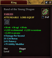 Band of the Young Dragon