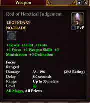 Rod of Heretical Judgement