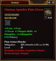 Glorious Apostle's Plate Gloves