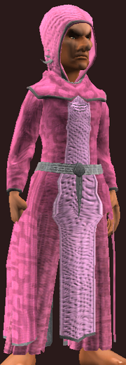 Imbued Burlap Robe (Equipped)