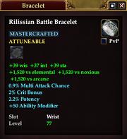 Rilissian Battle Bracelet