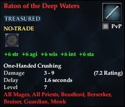Baton of the Deep Waters