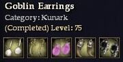 Kunark-Goblin Earrings
