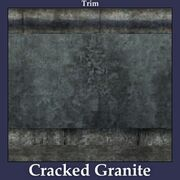 Trim Cracked Granite