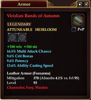 Viridian Bands of Autumn