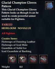 Glacial Champion Gloves Pattern