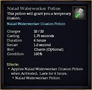 Naiad Waterworker Potion