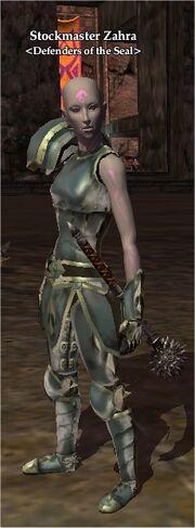 Stockmaster Zahra