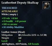 Leatherfoot Deputy Skullcap