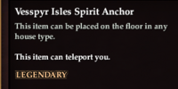 Vesspyr Isles Spirit Anchor