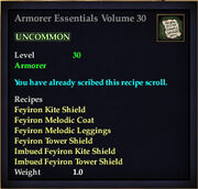 Armorer Essentials Volume 30