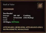 Staff of Valor