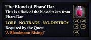 The Blood of Phara'Dar