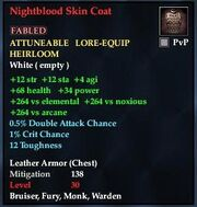 Nightblood Skin Coat