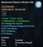 Frostwind Oracle's Divine Orb