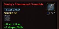 Sentry's Hammered Gauntlets