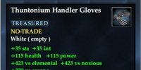 Thuntonium Handler Gloves