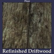 Floor Refinished Driftwood