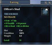 Officer's Stud