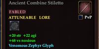 Ancient Combine Stiletto