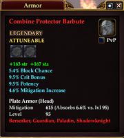 Combine Protector Barbute