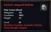 Feysteel vanguard barbute