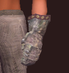 Seer's Rustic Handguards (Equipped)