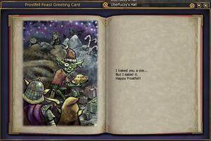 Frostfell feast open