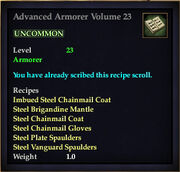Advanced Armorer Volume 23