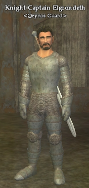Knight-Captain Elgrondeth