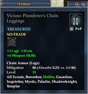Vicious Plunderer's Chain Leggings