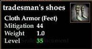 Tradesman's shoes
