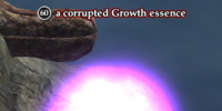 A corrupted Growth essence (solo)