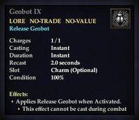 Geobot IX (Item)