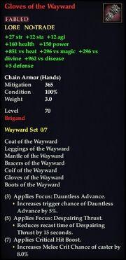 Gloves of the Wayward