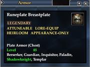 Runeplate Breastplate